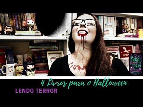 4 Livros para O Mês de Halloween | Dicas da Sissi