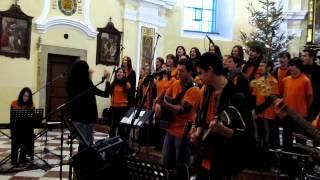 Adorare Kéž poznají nás po ovoci - Hymna csm Žďár 2012