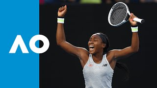 Naomi Osaka vs Coco Gauff - Match Highlights (3R)   Australian Open 2020