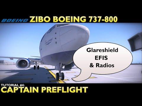 X Plane 11 : Zibo Boeing 737-800 : Tutorial 2 Startup CDU
