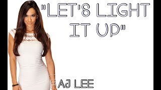 WWE: AJ Lee Theme Song [Lyrics]