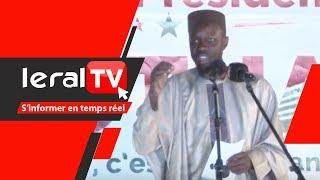 Vidéo : Ousmane Sonko promet de supprimer le Hcct de Tanor et le Cese d'Aminata Tall