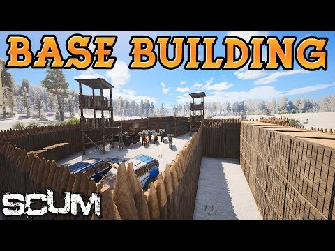 Base Building In-Depth Guide - SCUM (new patch)