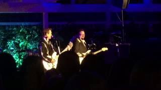 """Hershel Yatovitz and Chris Isaak """"One Day"""" /Newport Beach, CA 7/21/2017"""