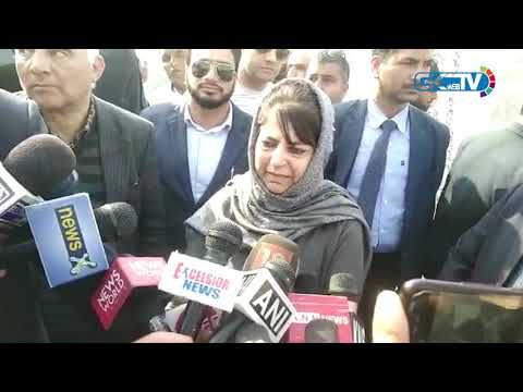 Sadr-e-Riyasat and PM post for JK: Mehbooba dubs it as NC's election gimmick
