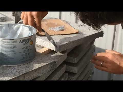 Comment réparer du  granit ?