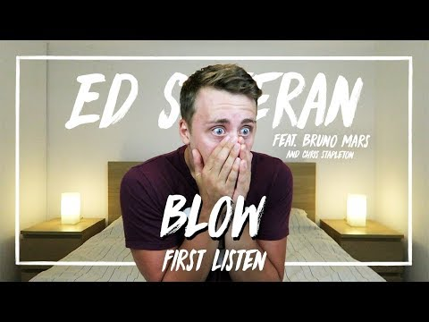 Ed Sheeran Ft. Bruno Mars & Chris Stapleton | BLOW (First Listen)