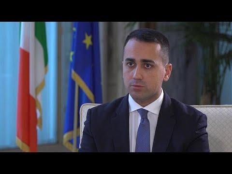 Ο υπουργός Εξωτερικών της Ιταλίας Λουίτζι ντι Μάιο στο Euronews…