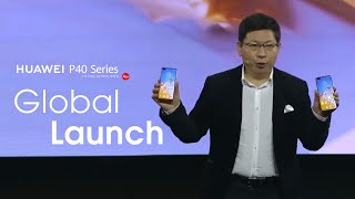 HUAWEI P40 Series Online Global Launch Event