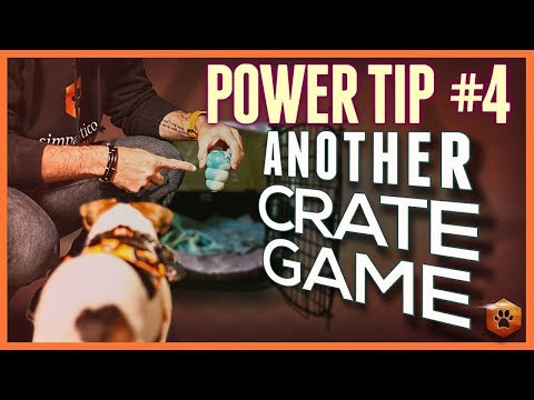 Crate Train A Dog - Power Tip #4: Bait Locker