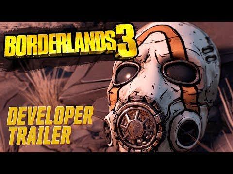 《邊緣禁地 3》Borderlands 3 正式預告片公開