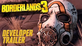 Gearbox Software представили трейлер Borderlands 3