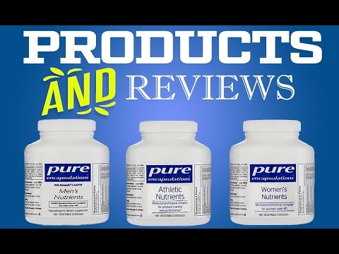 Pure Encapsulations Athletic Nutrients, Women's Nutrients and Men's Nutrients