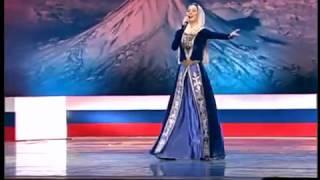 Chechen Girl Sings Armenian Patriotic Song Hay Qajer Heda Hamzatova Russian:Armenian Festival