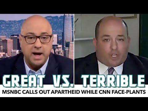 MSNBC Calls Out Apartheid While CNN Face-Plants