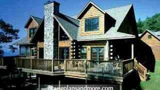 Log Homes Video 1   House Plans And More