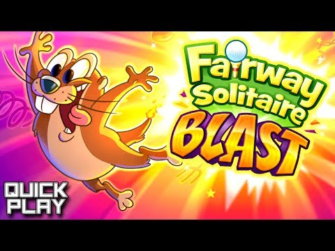Quick Play - Fairway Solitaire Blast! A Game of Gophers, Golf, and Cards for iOS and Android