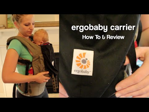 ErgoBaby Original Baby Carrier – REVIEW & HOW TO Use with Newborn (without infant insert)