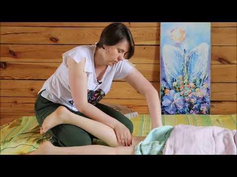 Как сделать целостный массаж своему ребёнку