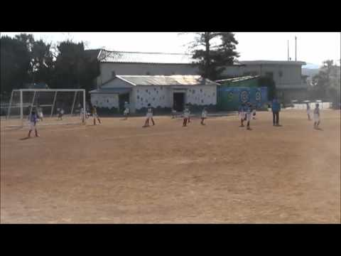 2011/12/11 TM-1 U9 ファイター vs 鹿の子台(後半)in 平田小学校
