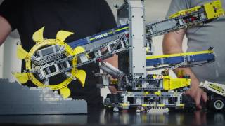 Designer Workshop: Bucket Wheel Excavator - LEGO Technic videos - LEGO.com