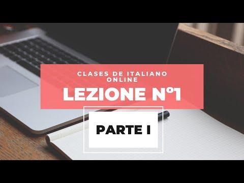 Clases de italiano online (parte 1)- ITALIANO CON ME
