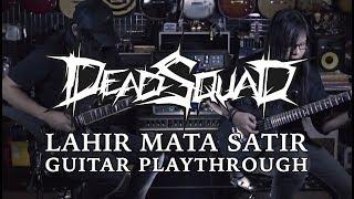 DeadSquad - Lahir Mata Satir Guitar Playthrough with Kemper Profiler - FULL HD (Republik Gitar)