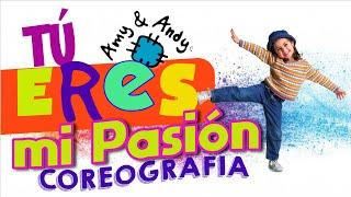 """Amy & Andy Coreografía de """"Tú eres mi pasión"""". Alabanzas para niños"""