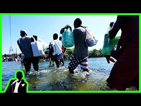 MIGRANT CRISIS: 15k Haitians Live Under Bridge In Del Rio Texas