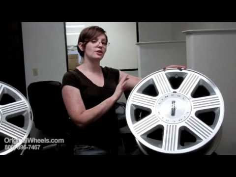 LS Rims & LS Wheels - Video of Lincoln Factory, Original, OEM, stock new & used rim Shop
