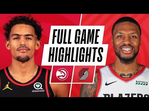 Portland Trail Blazers vs Atlanta Hawks</a> 2021-01-17