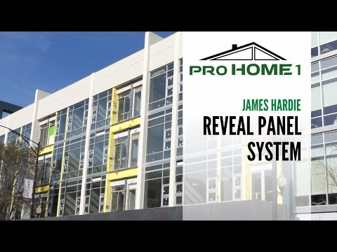 James Hardie Reveal Panel System
