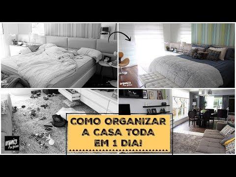 Organize sua casa toda em apenas 1 DIA!