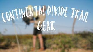 CDT Thru-Hike Gear List