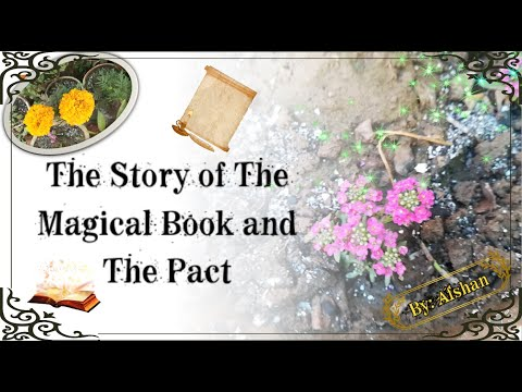 [Short story] The Story of The Magical Book and The Pact: Tales of the Divine Throb