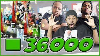 36,000 MUT POINT BUNDLE SHOPPING SPREE! - MUT Wars Season 2 Ep.4