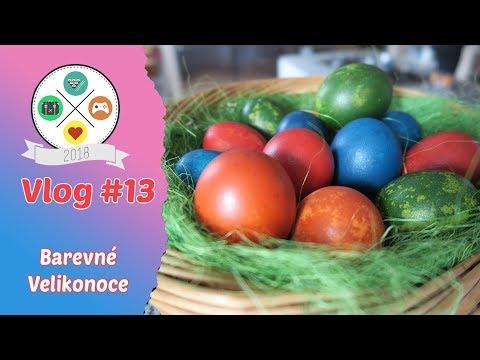 Vlog# 13: Barevné Velikonoce