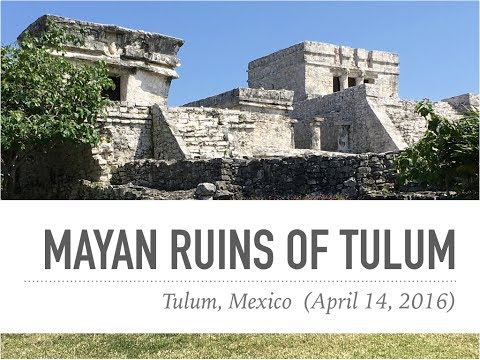 Norwegian Getaway Shore Excursion: Tulum Mayan Ruins