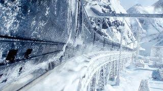 地球重回冰川时代,人类只能生活在列车上,穷人靠吃蟑螂食品度日!
