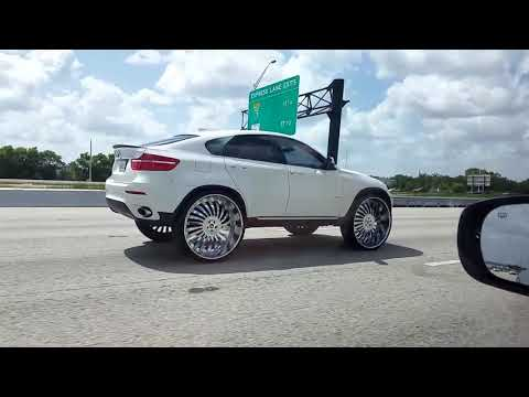 SICKEST BMW X6 lifted and modified with MASSIVE 30 inch plus wheels/rims !