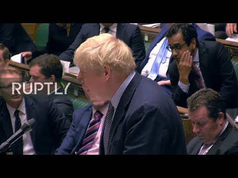 LIVE: UK Parliament debates and votes on Johnson's Brexit deal
