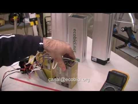 Mecánico de Bicicletas eléctricas, la batería de litio