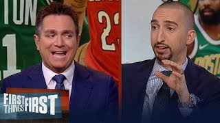 Chris Mannix joins Cris and Nick to break down Kyrie Irving's future | NBA | FIRST THINGS FIRST