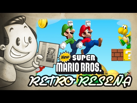 New Super Mario Bros. - Retro Reseña