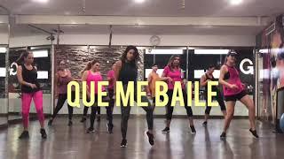 Que Me Baile   ChocQuibTown, Becky G  Zumba Con Nath  Dance Choreo