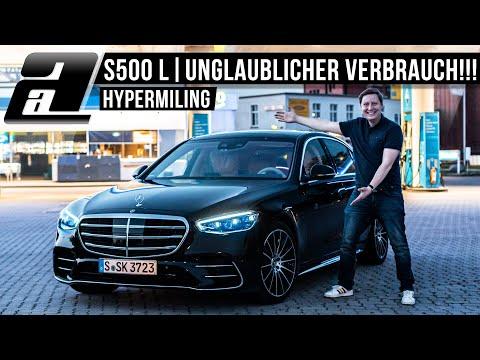 ÜBER 1000km mit EINER Tankfüllung im Mercedes S500 L?! | HYPERMILING