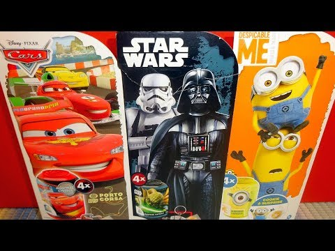 Disney Cars - Star Wars & Despicable Me 12 Surprise Surprise Capslules