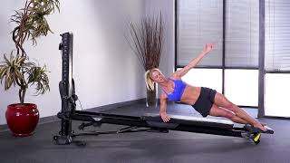 Side Plank with Standing Platform