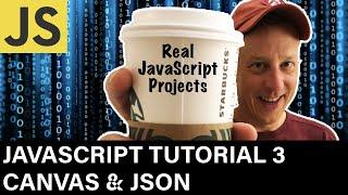 JavaScript Tutorial 3 Canvas & JSON