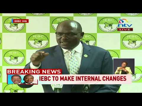 Wafula Chebukati statement after supreme court annuls Uhuru's victory
